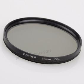 Filtro Polarizador Circular Cpl Objetiva Lente 72mm