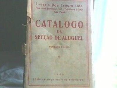 Catálogo Da Secção De Aluguel Livraria Boa Leitura