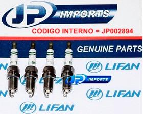 Vela Ignicao Iridium Lifan 320 620 Jp002894  04 Pecas