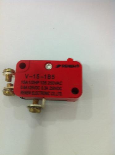 Kit C/10pçs Chave Microswitch V-15-1b5