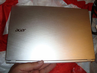 Notebook Ultrabook Acer Aspire S7 Touch I5 Silver Inmaculada