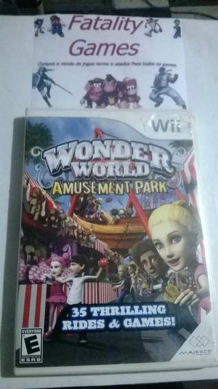 Wonder World Amusement Park Nintendo Wii Completo Americano