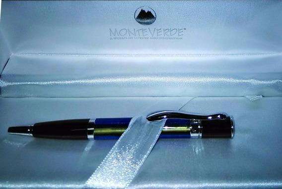 Boligrafo Monteverde Mini Jewleria Blue