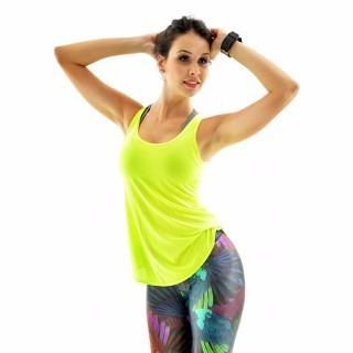 14ebe4a637 Kit 10 Camiseta Regata Dry Fit Feminina Academia Furadinha - R  179 ...