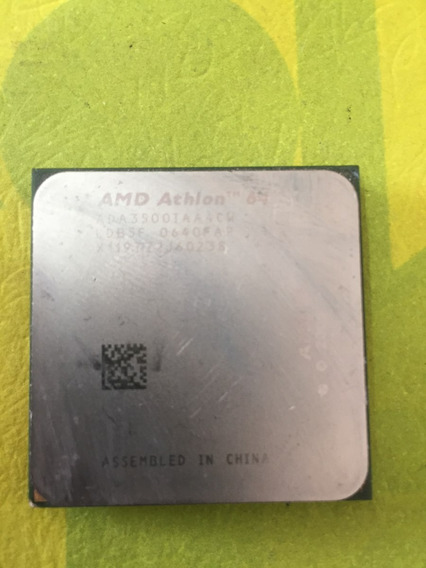 Amd Athion 64 Amd Athlon 64 3500+ Orleans Single-core 2.2 Gh