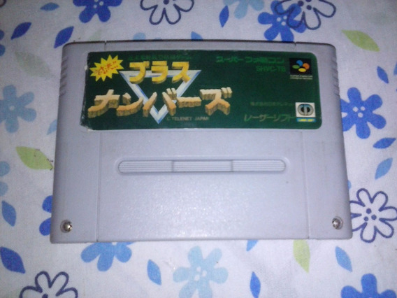 Brass Numbers Luta Snes Original Super Nintendo Famicom