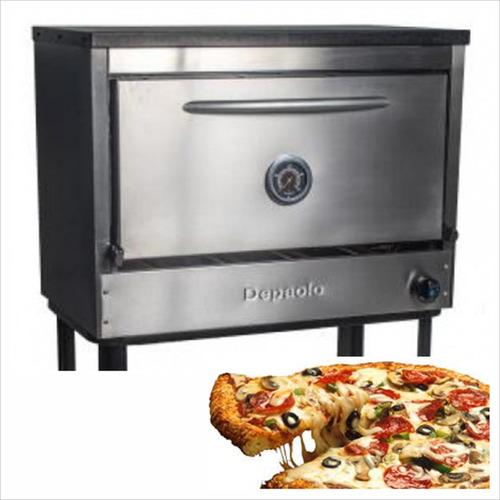 Horno Pizzero Rotisero Depaolo 6 Moldes
