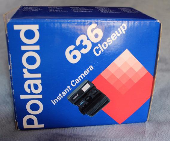 Câmera Polaroid 636 Closeup