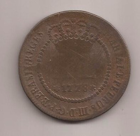 C284 - X L Réis De Cobre De 1778