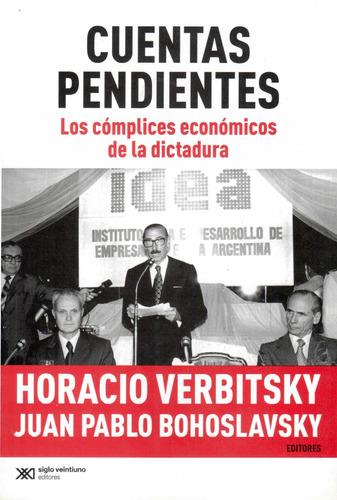 Libro Cuentas Pendientes De Horacio Verbitsky