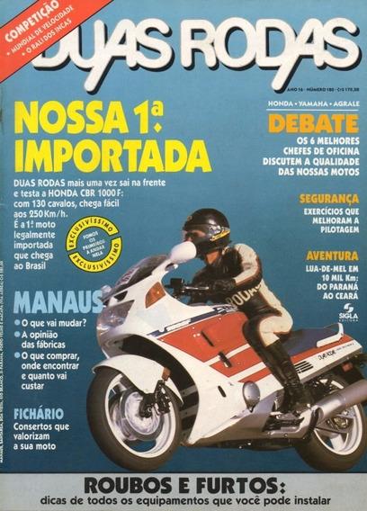 Duas Rodas N°180 Honda Cbr 1000f