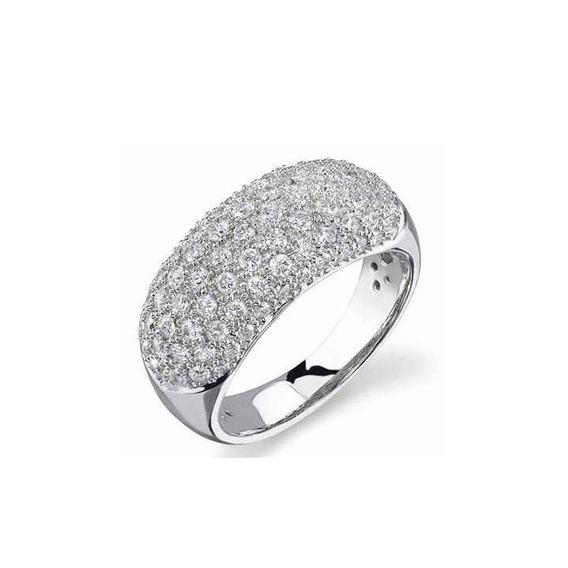 Anel Em Ouro 18k Diamantes 90 Pontos - Perseu Jóias