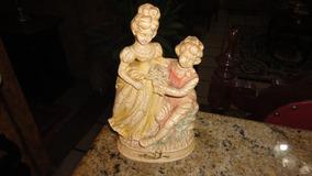 Antiga Escultura Italiana Em Baquelite Jpgyn
