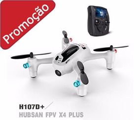 Drone Hubsan X4 H107d+ 2.4ghz + Fpv