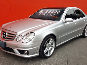Unidad Blindada Mercedes Benz E63 2008 Blindado Nivel 3 Plus