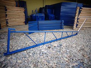 Kit C/ 2 Bandejas Proteção Primária De Construção Civil 2,5m