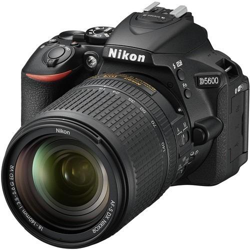 Nikon D5600 + Lente 18-140mm F/3.5-5.6g Ed Vr - Lj. Platinum