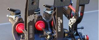 Pedalera De Piso Serie 94 Black + Pedal Acelerador Doppler