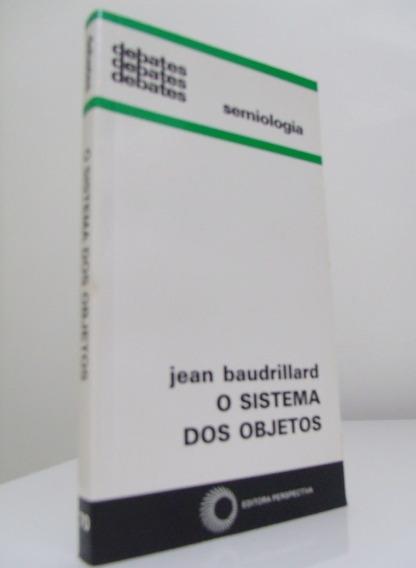 Livro - O Sistema Dos Objetos - Jean Braudrillard
