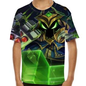 Camiseta League Of Legends Veigar Chefão Final Infantil