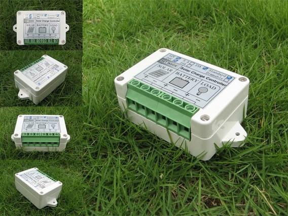 Controlador De Carga Solar Para Paneles Solares 5 Amperes