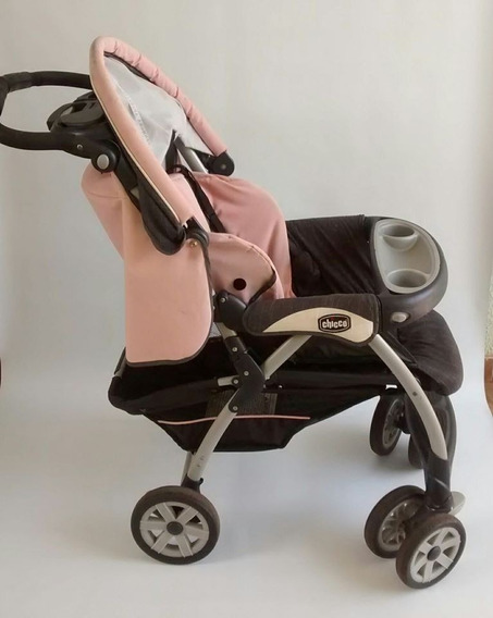 Carrinho De Bebê Duo Cortina Da Chicco
