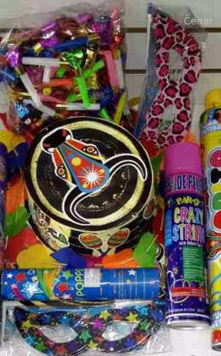 Kit Personalizado Para Fiestas Hora Loca Neon Piñateria