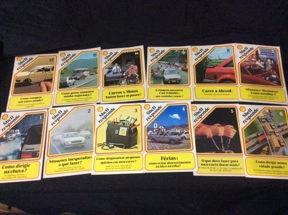 Lote 12 Revistas Shell Responde 1 Ao 12