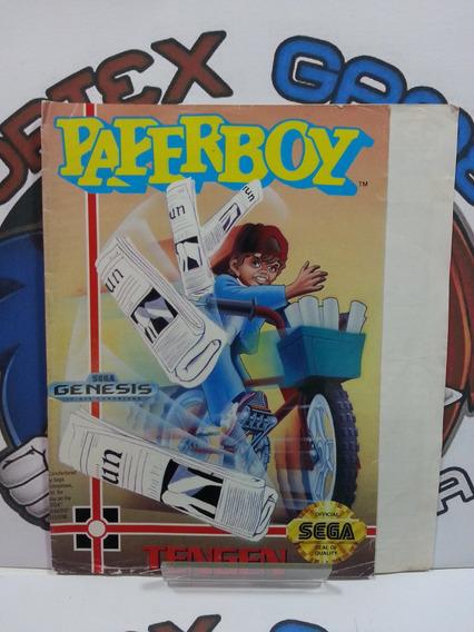 Genesis Mega Drive Encarte Capa Jogo Original Paper