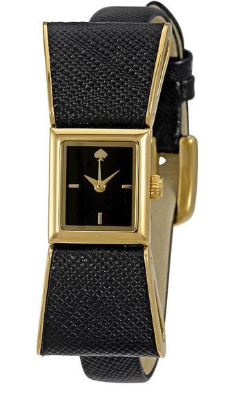 Reloj Kate Spade Kenmare Acero Piel Negro Mujer 1yru0899