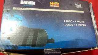 Pastilha De Freio Dianteira Bendix Hq 2137a