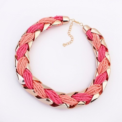 Collar Colorfull Rosa By Moonlight