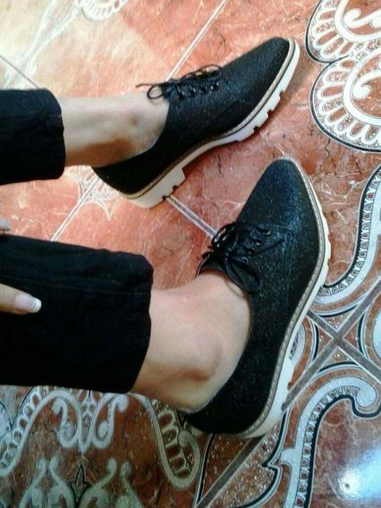 Zapatos Agutier Puntudo Para Dama