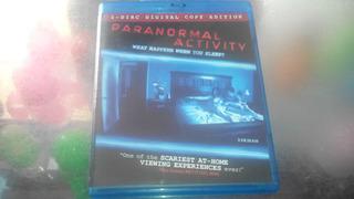 Pelicula De Blu Ray Original,paranormal Activity.