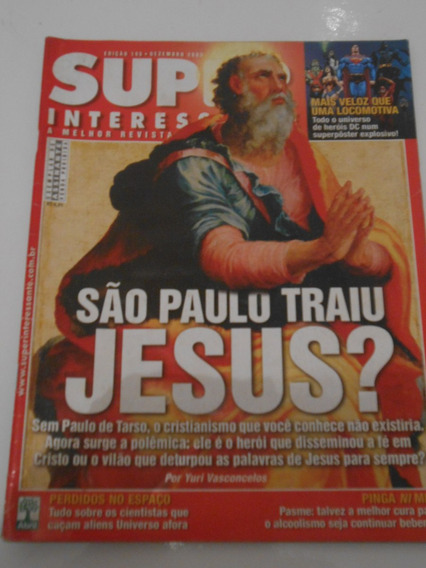 Superinteressante Nº 195- Dez/03- São Paulo Traiu Jesus?