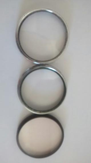 Três Filtros Dois Hliopar 3/49x.75 E Asahi Pentax 49mm Skili
