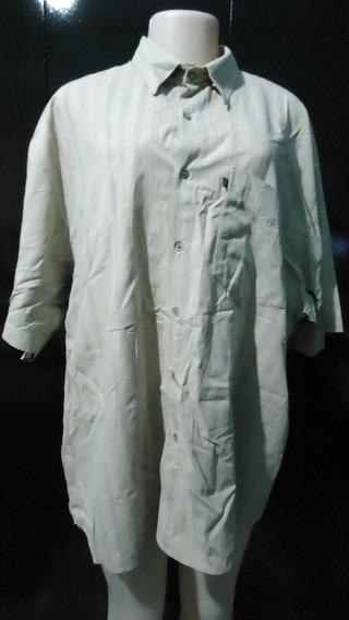 Camisa Social Roth - Tamanho Gg - Creme - Frete Grátis