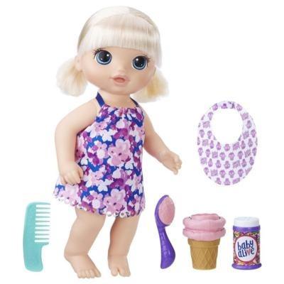 Boneca Baby Alive Sobremesa Magica Loira - Hasbro Original