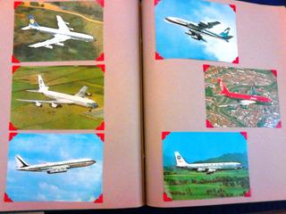 Aviones Postales Colección