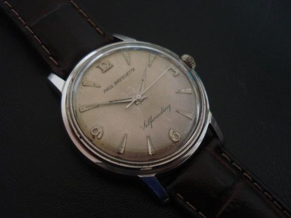 Relógio Paul Breguette By Ebel Pie Pan Suiço Antigo Coleção