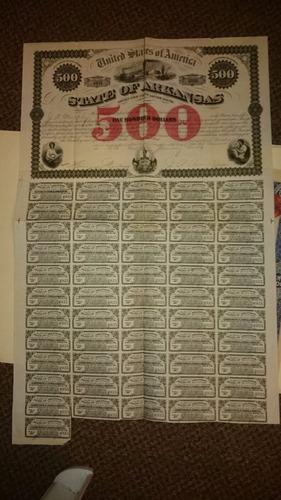 Bonos Estados Unidos De America De Us$500