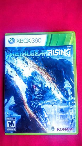 Metal Gear Rising Revengeance Original Xbox 360 Frete R$10