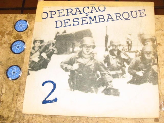 Lp Operação Desembarque 2 (198?) Celine Dion Culture Beat