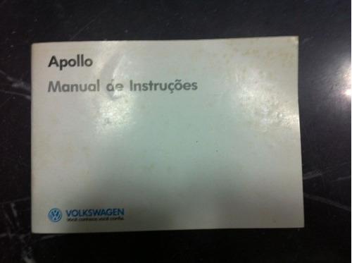 Manual Do Proprietário Vw Apollo Vip, Gls, Gl