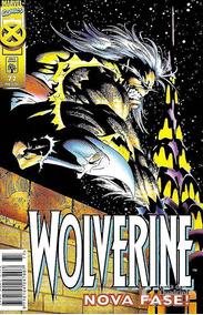 Hq Gibi Wolverine Nº 77 Nova Fase