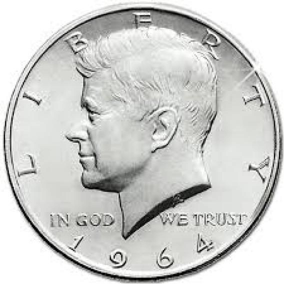Moeda Prata Half Dollar
