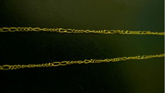 Cordão Fino Folheado A Ouro 18k 60cm