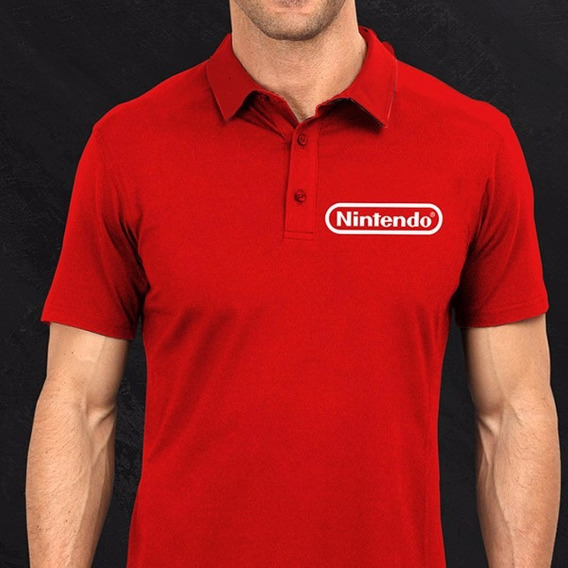 Polo Nintendo Gamer Playera Logo