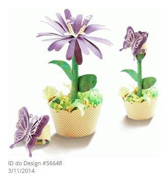 Mega Kit Silhouette Flores Premium Envio 10 Minutos