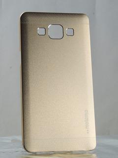 Capa Case Samsung Galaxy A7 Alumínio Dourado